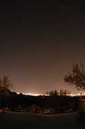Sirius and Canopus from the backyard
