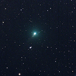 Comet Atlas on the evening of March 19, 2020