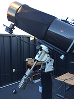 ASA 20-inch f/3.6 telescope during the day