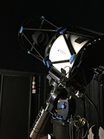 PlaneWave CDK 24-inch f/6.5 telescope at night